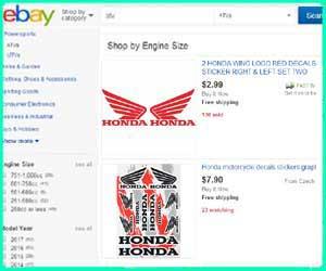 cheap honda street bike parts