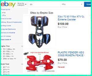 cheap Jetmoto parts
