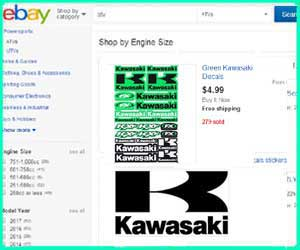 cheap Kawasaki 4 wheeler parts