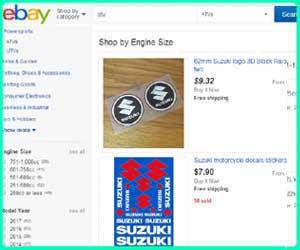 cheap Suzuki 4 wheeler parts