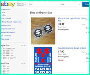 cheap Suzuki street bike parts