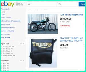 cheap Triumph Thunderbird parts