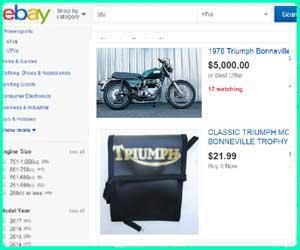 cheap Triumph street bike parts
