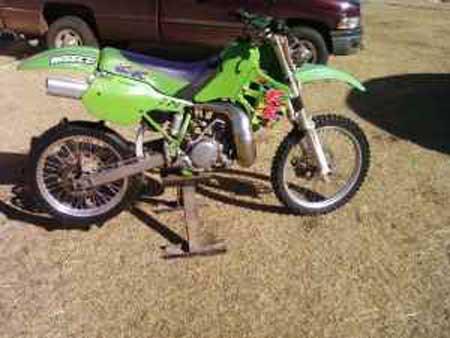 Vintage KX dirt bike