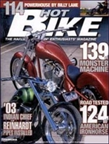 Hot Bike Streetbike Magazine