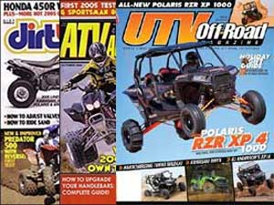 ATV quad magazines
