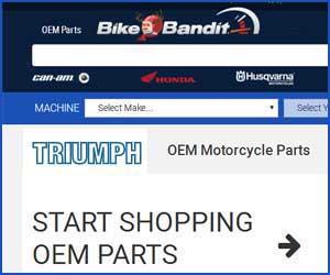 OEM Triumph motorcycle