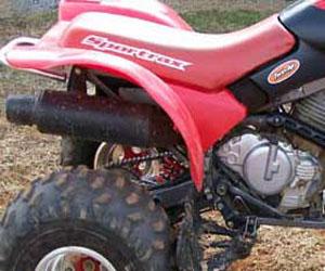 parts for a 250EX 4 wheeler