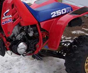 parts for a Honda 250R 4 wheeler