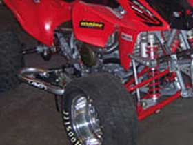 parts for a 450R 4 wheeler