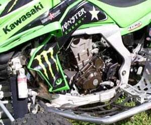 parts for a KFX 4 wheeler
