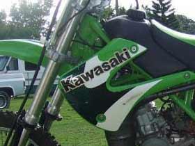 parts for a Kawasaki KLR650