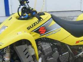 parts for a Suzuki Quadracer