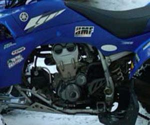 parts for a YFZ450 4 wheeler
