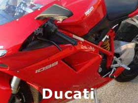parts for a Ducati 1098R
