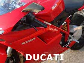 parts for a Ducati 998