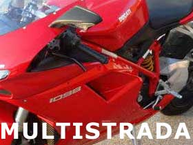 parts for a Ducati Multistrada