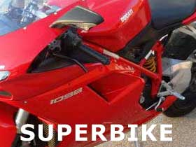 parts for a Ducati Superbike