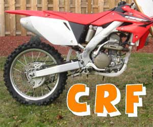 parts for a CRF 100F