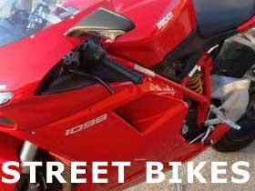 parts for Ducati street bikes