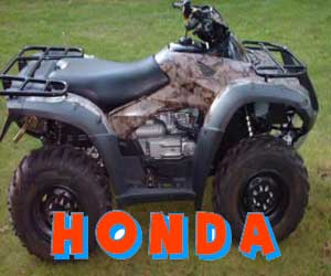 parts for a Honda 4 wheeler