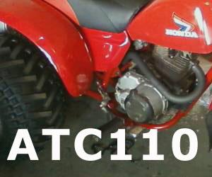 parts for a Honda ATC110