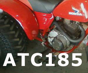 parts for a Honda ATC185