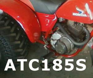 parts for a Honda ATC185S