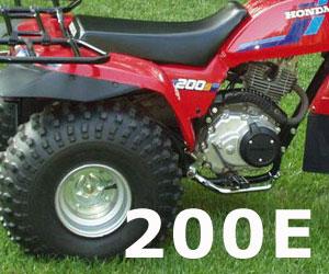 parts for a Honda ATC200E