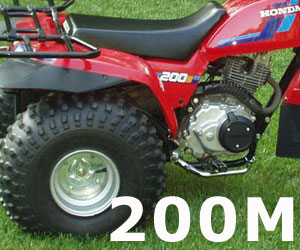 parts for a Honda ATC200M