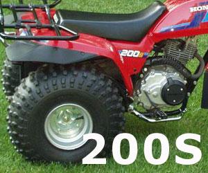 parts for a Honda ATC200S