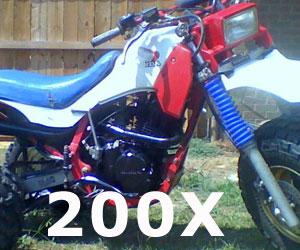 parts for a Honda ATC200X