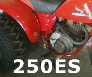 parts for a Honda ATC250ES
