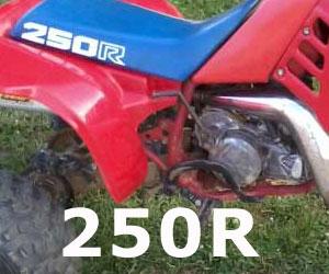 parts for a Honda ATC250R