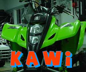 parts for a Kawasaki 4 wheeler