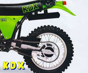 parts for a KDX 200