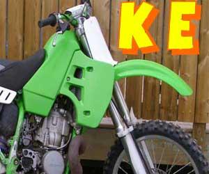 parts for a KE 100