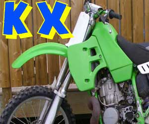 parts for a KX 85