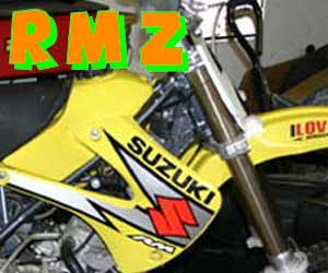 parts for an RMZ 450