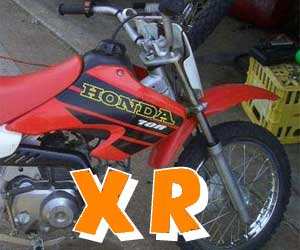 parts for an XR 70R