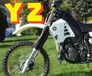 parts for a YZ 450F