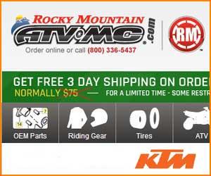 OEM KTM quad parts