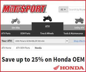 oem Honda trike parts