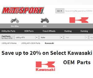 OEM Kawasaki 4 wheeler parts