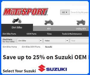oem Suzuki 4 wheeler parts
