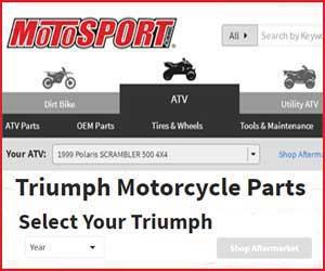 spare Triumph street bike parts