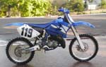 YZ 125 dirt bike