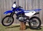 Yamaha TT dirt bike