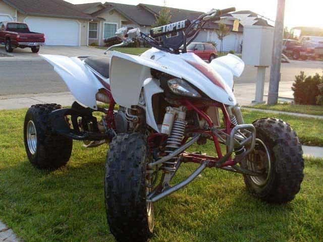 05 Yamaha YFZ450 quad
