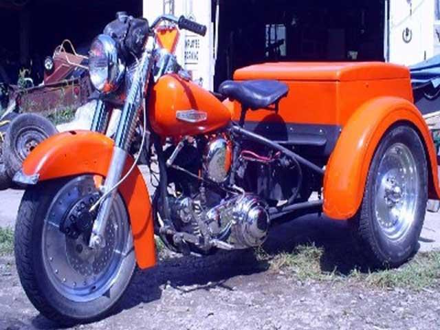 1947 Harley Servicar trike